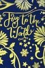 V44479 - Joy To The World Blue Wrap 10/PK